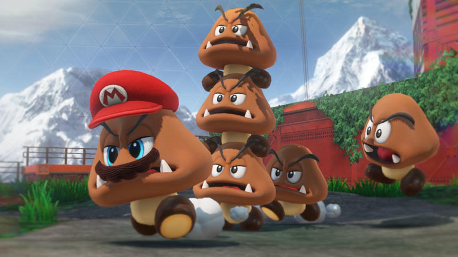 Super Mario Odyssey Preview Cappy Bearer