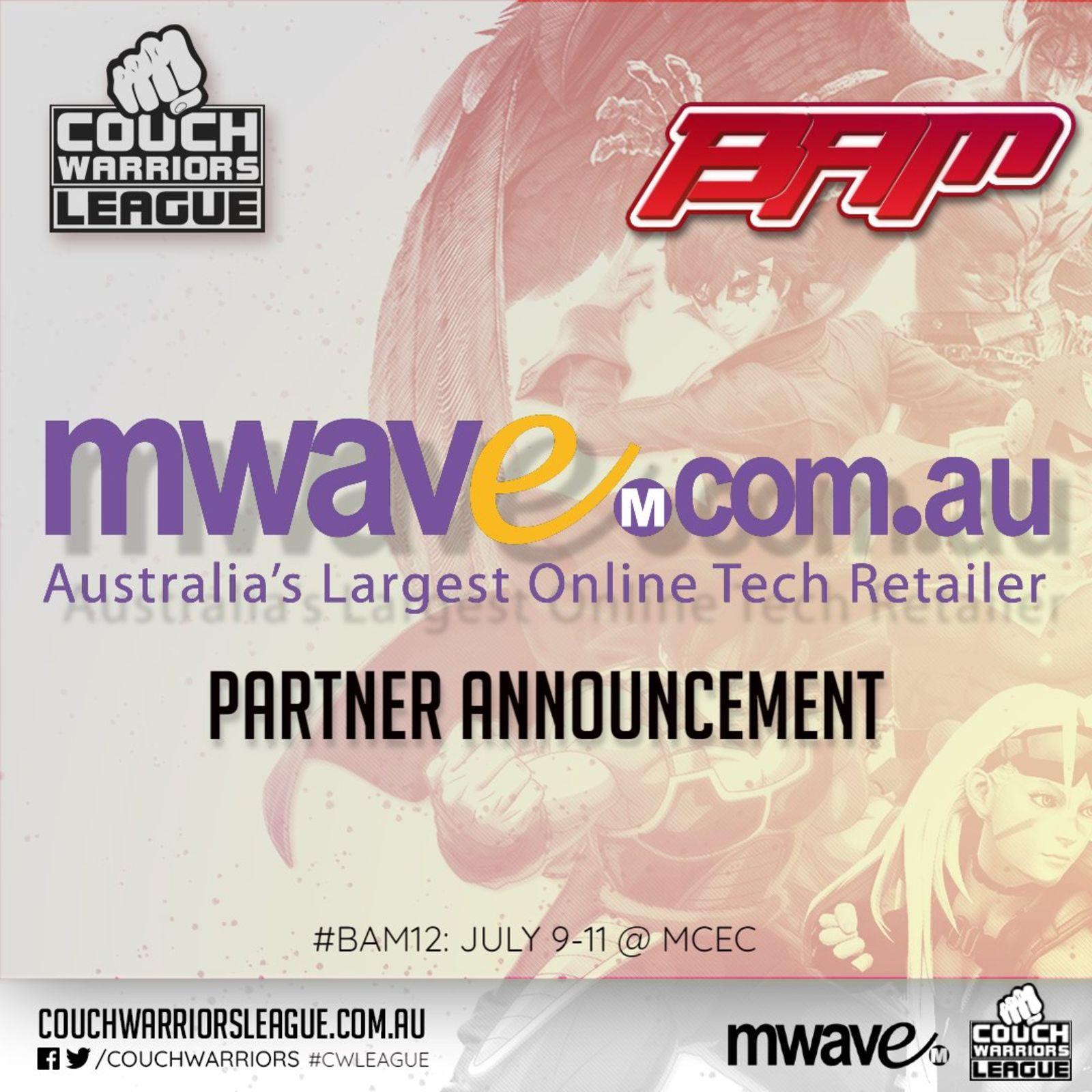Mwave Sponsorship announcement