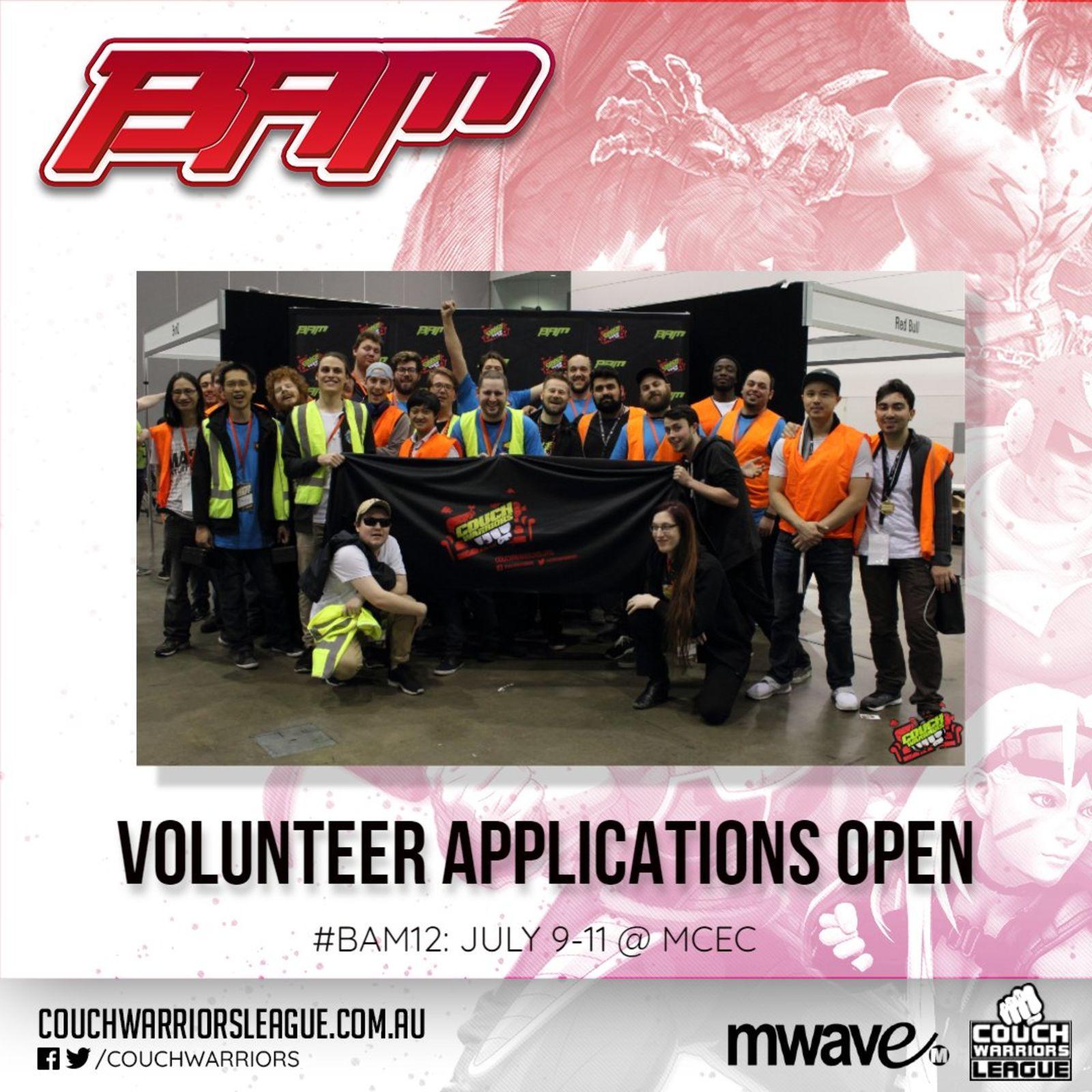 Volunteer applications open