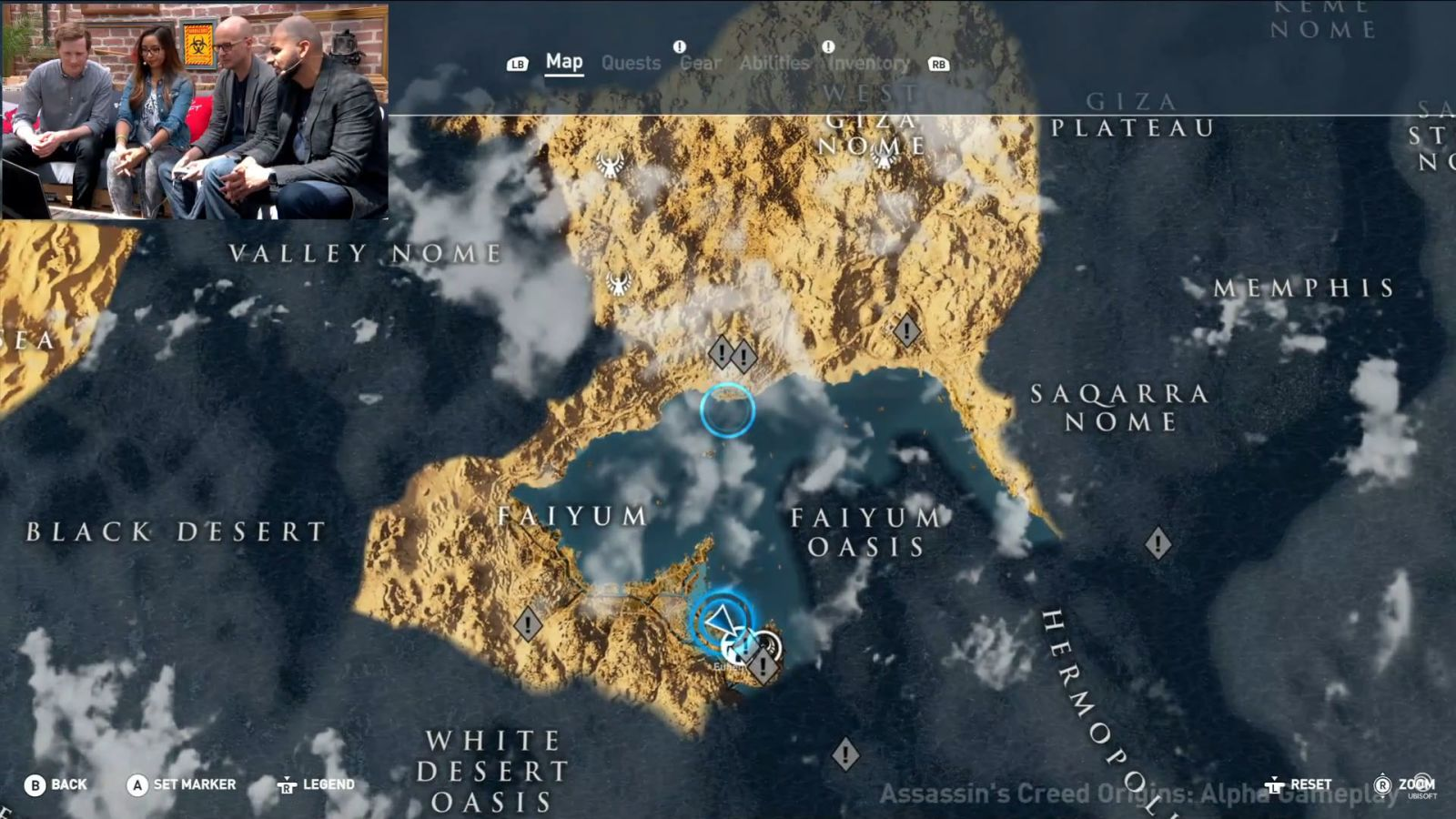 E3 2017 Assassin S Creed Origins Map Size Similar To The Sea In Black Flag But Mostly Land
